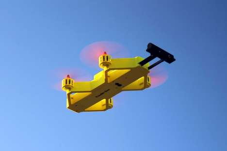 The 'Powderbee' Drone is Compact, Lightweight and Efficient