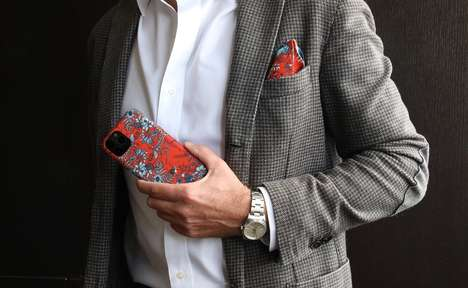 Sartorial Fabric Smartphone Cases