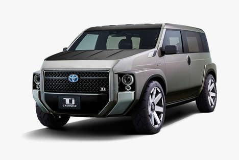 Boxy Cargo-Friendly Passenger Vehicles
