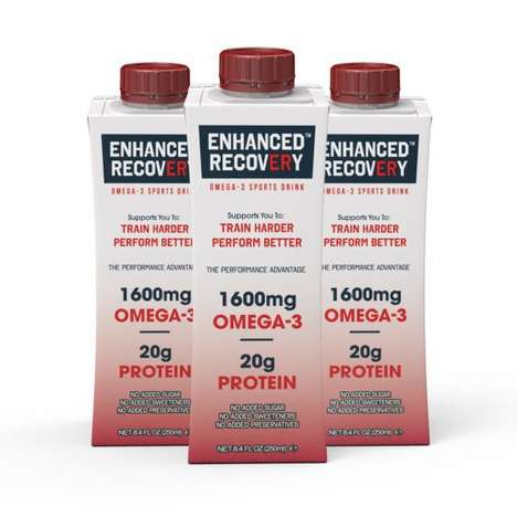 Rapid Recovery Sports Drinks
