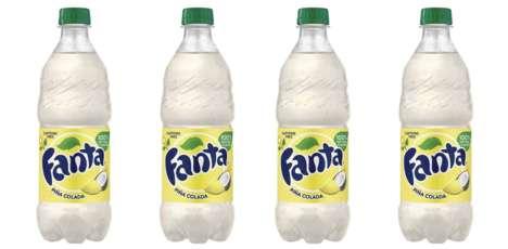 Piña Colada-Flavored Sodas