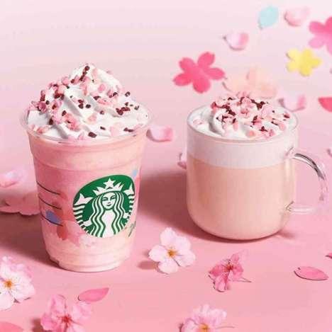 Milky Sakura Lattes