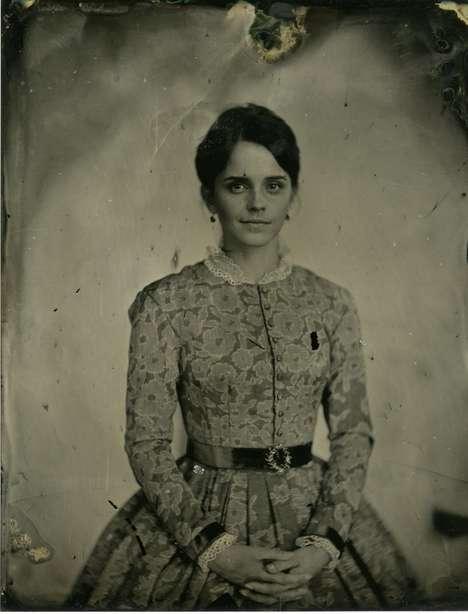 1800s-Style Movie Portraits