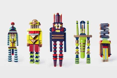 Vietnamese-Inspired Robot Designs
