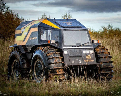 All-Terrain Construction Vehicles
