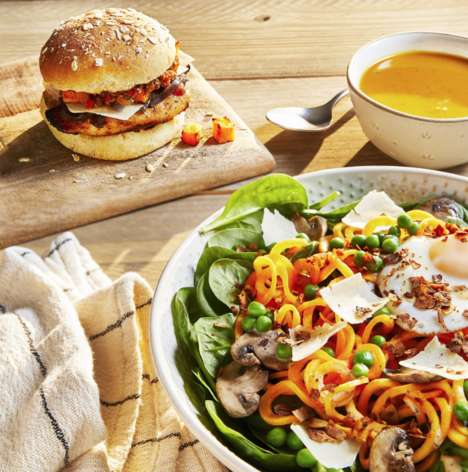 Vegetarian Butternut Noodle Bowls