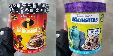 Animated Movie Ice Creams