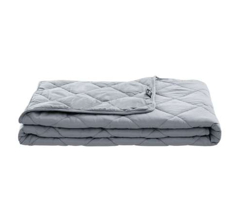 Deep Touch-Mimicking Weighted Blankets