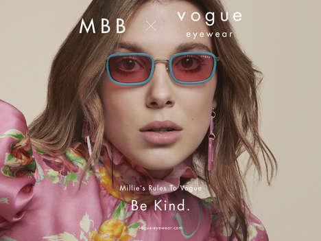 Actress-Branded Luxury Eyewear