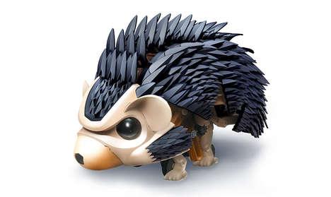 Build-It-Yourself Robotic Pet Hedgehogs