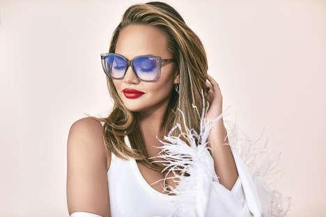 Celebrity-Endorsed Sunglasses Capsules
