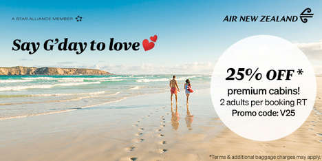 Valentine's Day Flight Promotions
