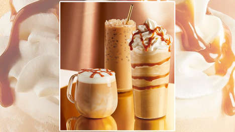 Sweet Syrup-Infused Coffee Drinks