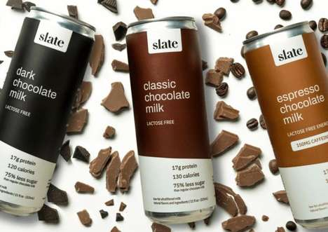 Adult-Focused Chocolate Milk Products