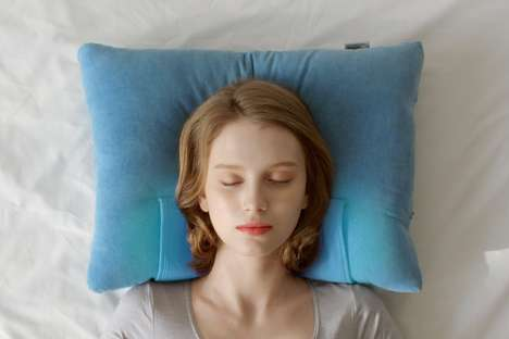 Body Temperature-Lowering Pillows