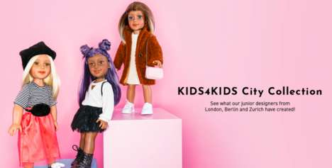 Kid-Created Fashion Dolls