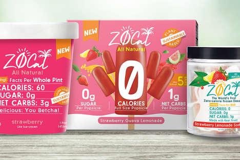 Zero-Calorie Frozen Desserts