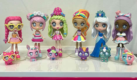 Candy-Inspired Fashion Dolls