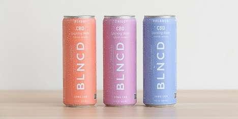 Relaxing CBD-Enhanced Drinks