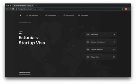 Immigrant-Specific Startup Platforms