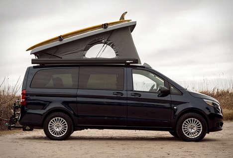 Premium Pop-Up Camper Vans