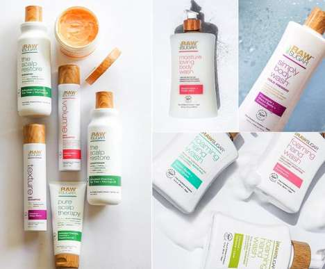 Vegan Plant-Derived Cosmetics