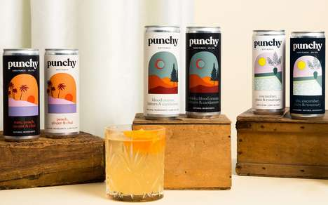 Artisanal Canned Cocktail Ranges