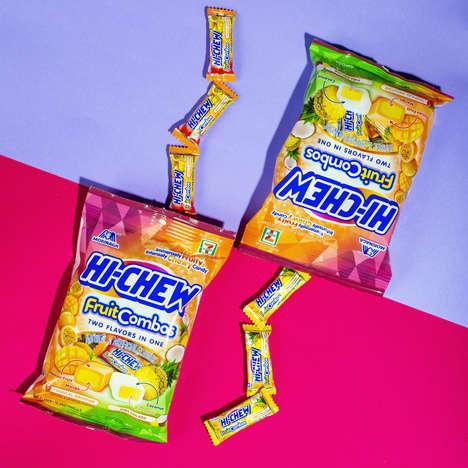 Flavor-Combining Chewy Candies