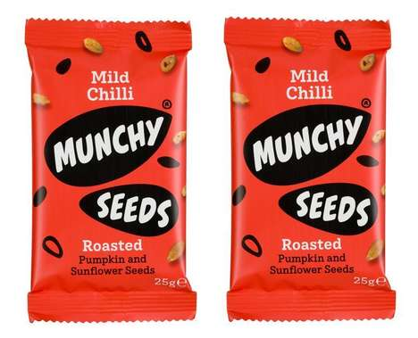 Satisfying Piquant Seed Snacks
