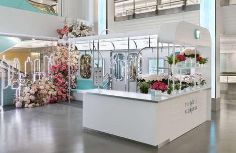 Jewelry Co-Branded Flower Pop-Ups
