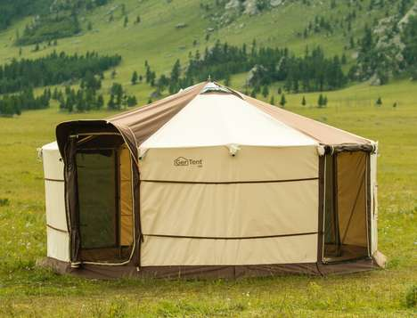 Four-Season Camping Yurts