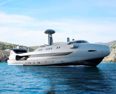 Jet-Like Superyachts