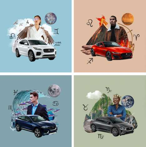 Astrology-Themed Luxury Car Ads