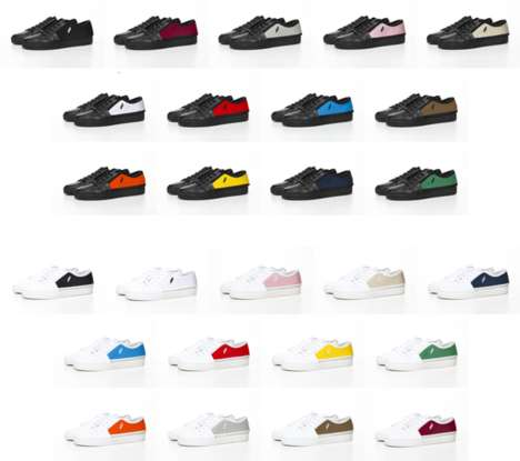 Endlessly Interchangeable Sneakers