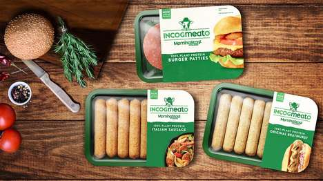 Alternative Meat-Like Sausages