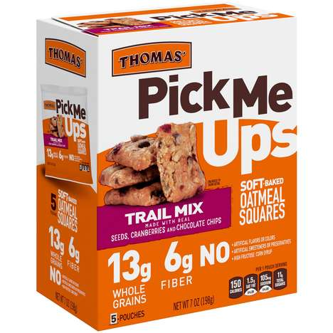 On-the-Go Oatmeal Squares