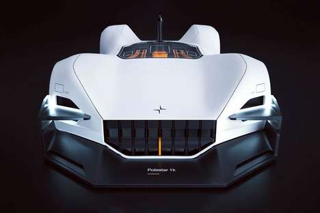 Futuristic Robotic Racing Vehicles