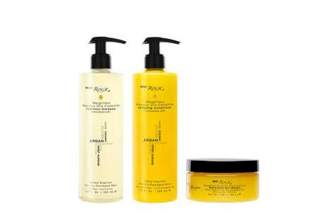 Oil-Enriched Haircare Products