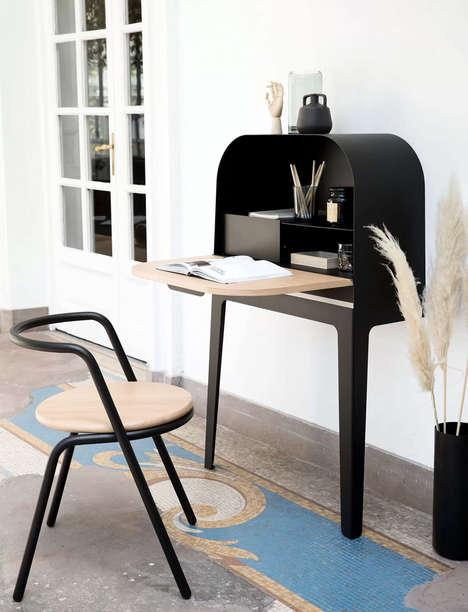 Minimal Storage Cabinet Desks