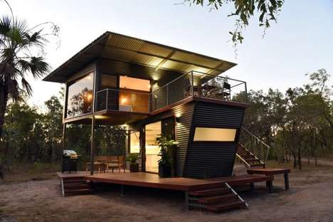 Shipping Container Rental Cabins