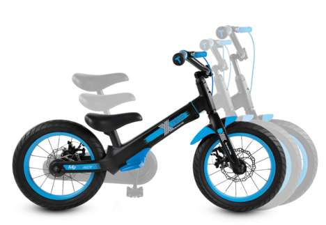 Kid-Friendly Extendable Bikes