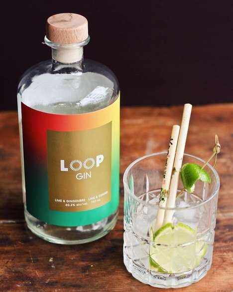 Waste-Reducing Gin Spirits