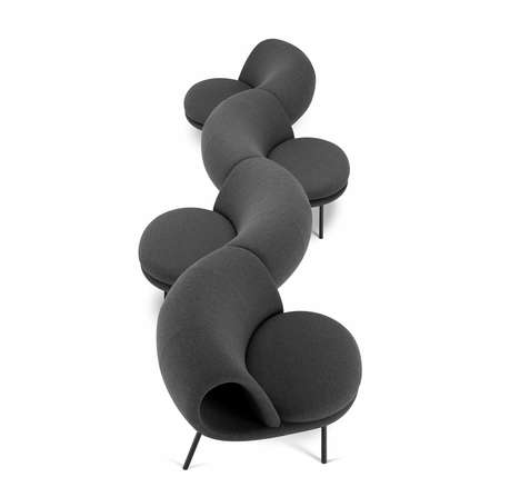 Modular Maki-Inspired Seating