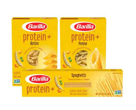Plant-Powered Protein Pastas