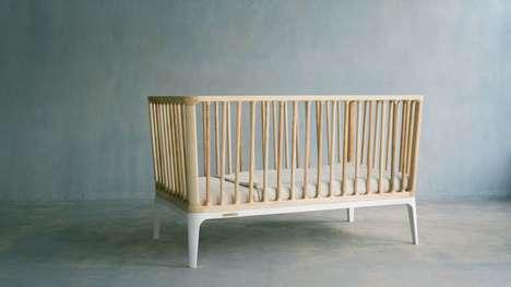 Sustainable Luxury Cribs