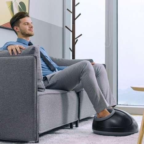 Fatigue-Alleviating Foot Massagers