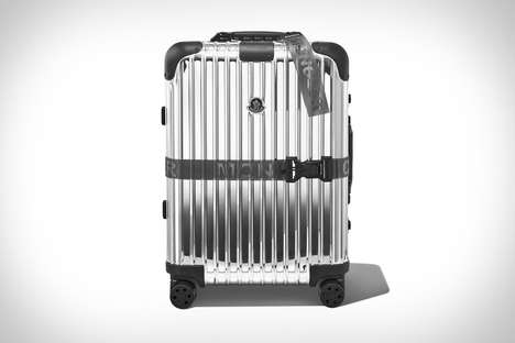 LED Screen-Equipped Luggage