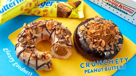 Collaboration Candy Bar Doughnuts