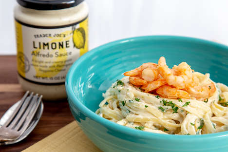 Lemon-Flavored Alfredo Sauces