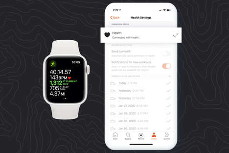 Smartwatch-Integrated Fitness Apps